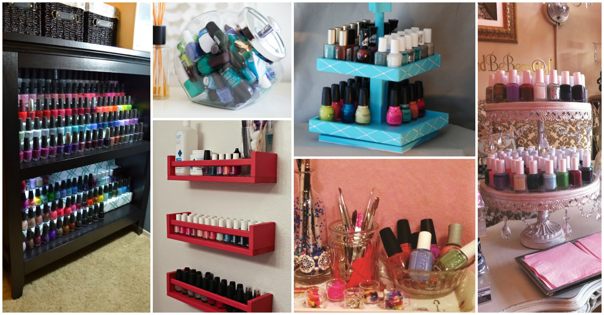 12 nail polish storage hacks that will ease your life