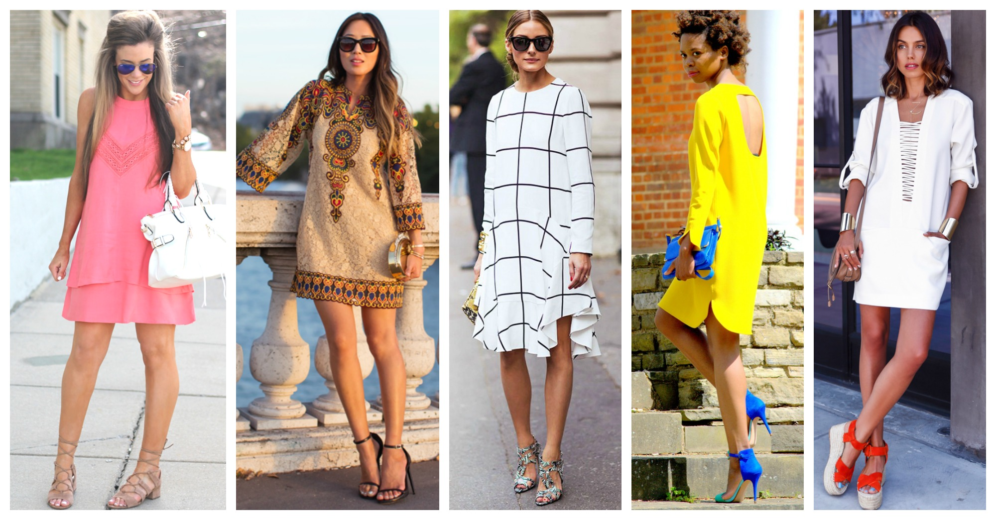 10 Ideas to Wear a Shift Dress This Season and Not Look Old-Fashioned