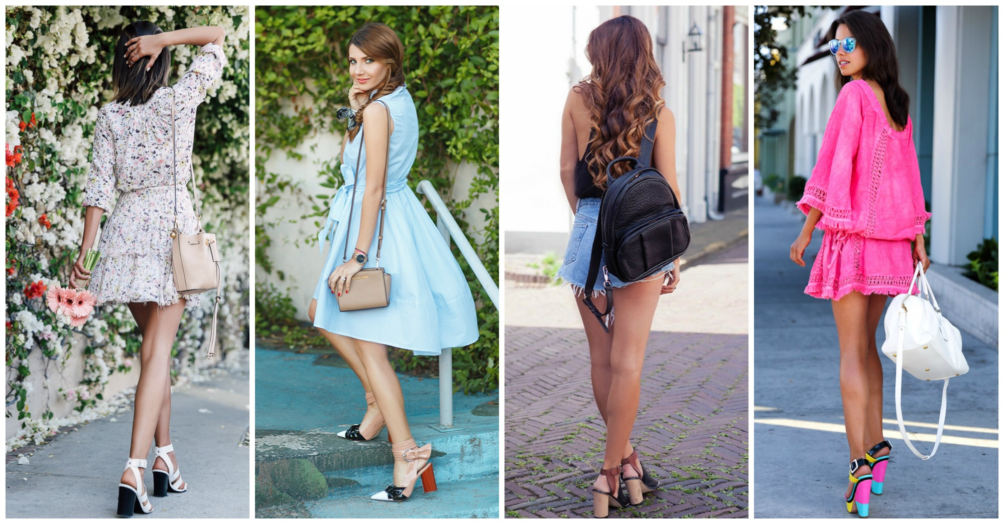 15 Stunning Combos with Block Heels to Wear Now