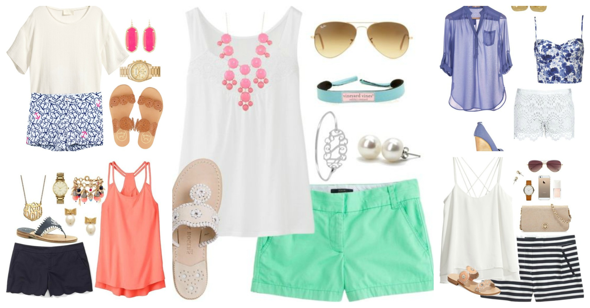 Casual Summer Polyvore Outfits You Should Not Miss