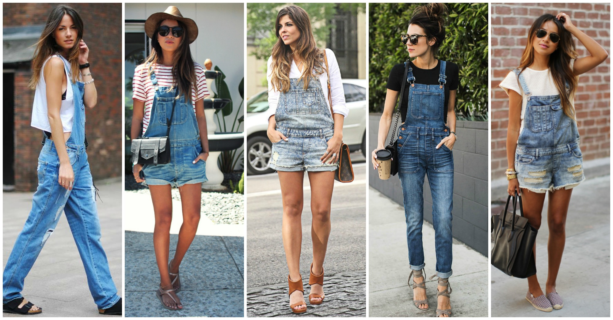 12 Fabulous Ways to Wear Your Denim Overalls This Spring