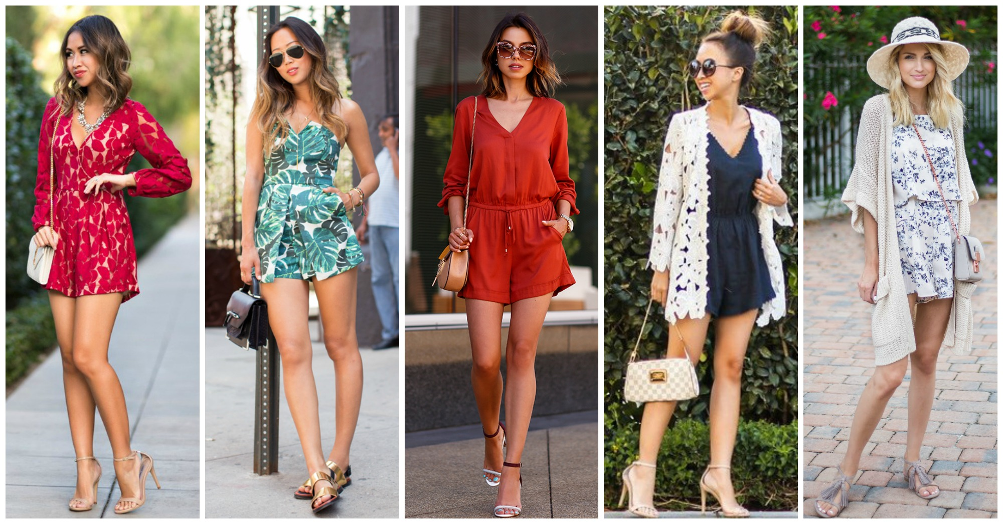 15 Street Style Outfits with Chic Rompers to Copy this Spring