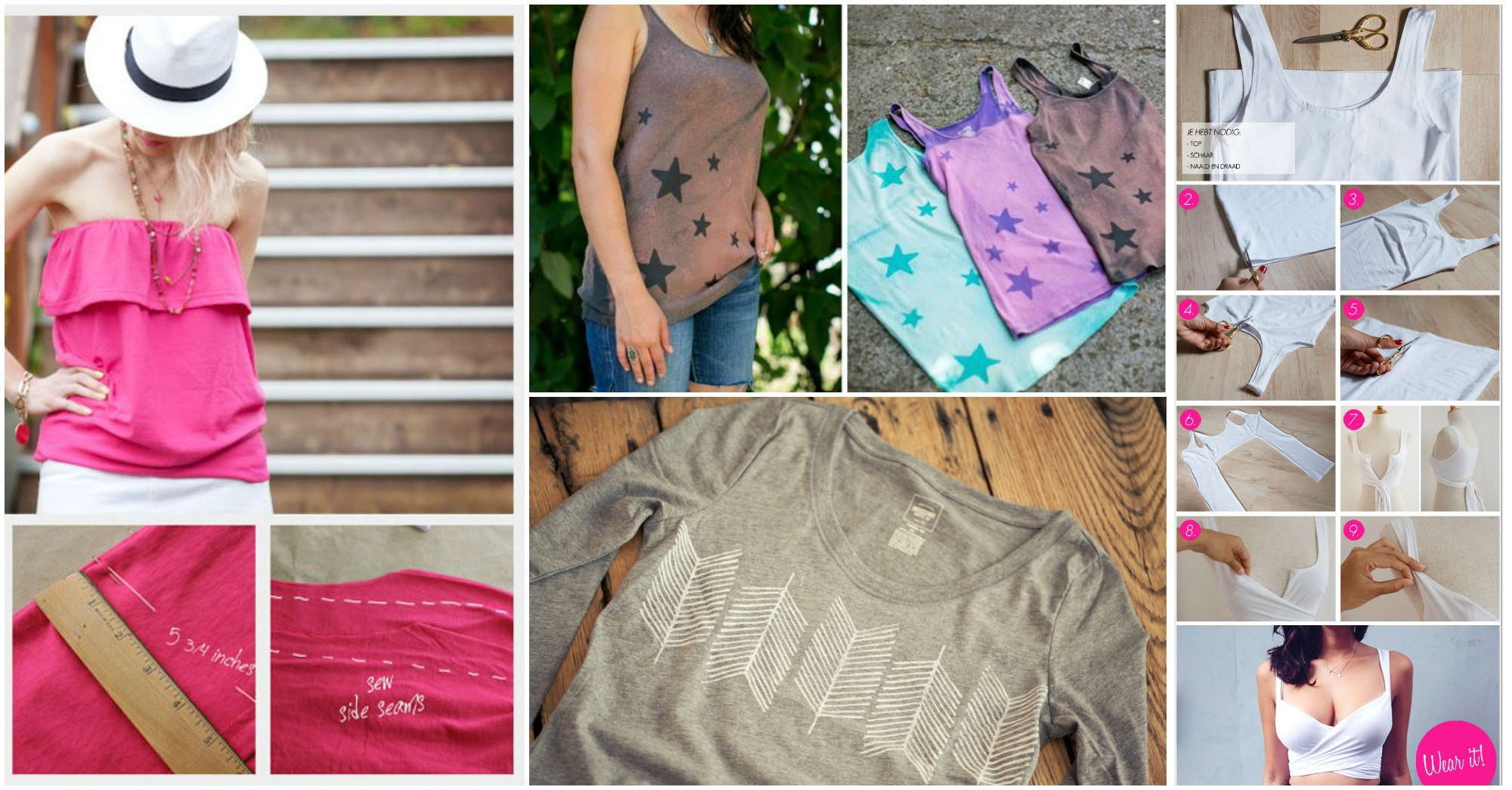 10 Tremendous DIY Summer Tees You Should Try Right Now