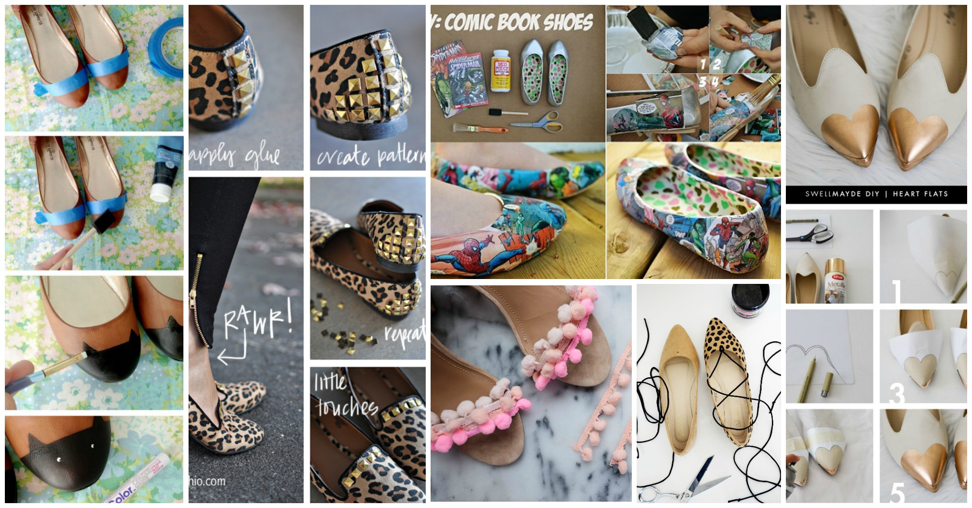 10 Fabulous DIY Flats to Try to Make This Summer