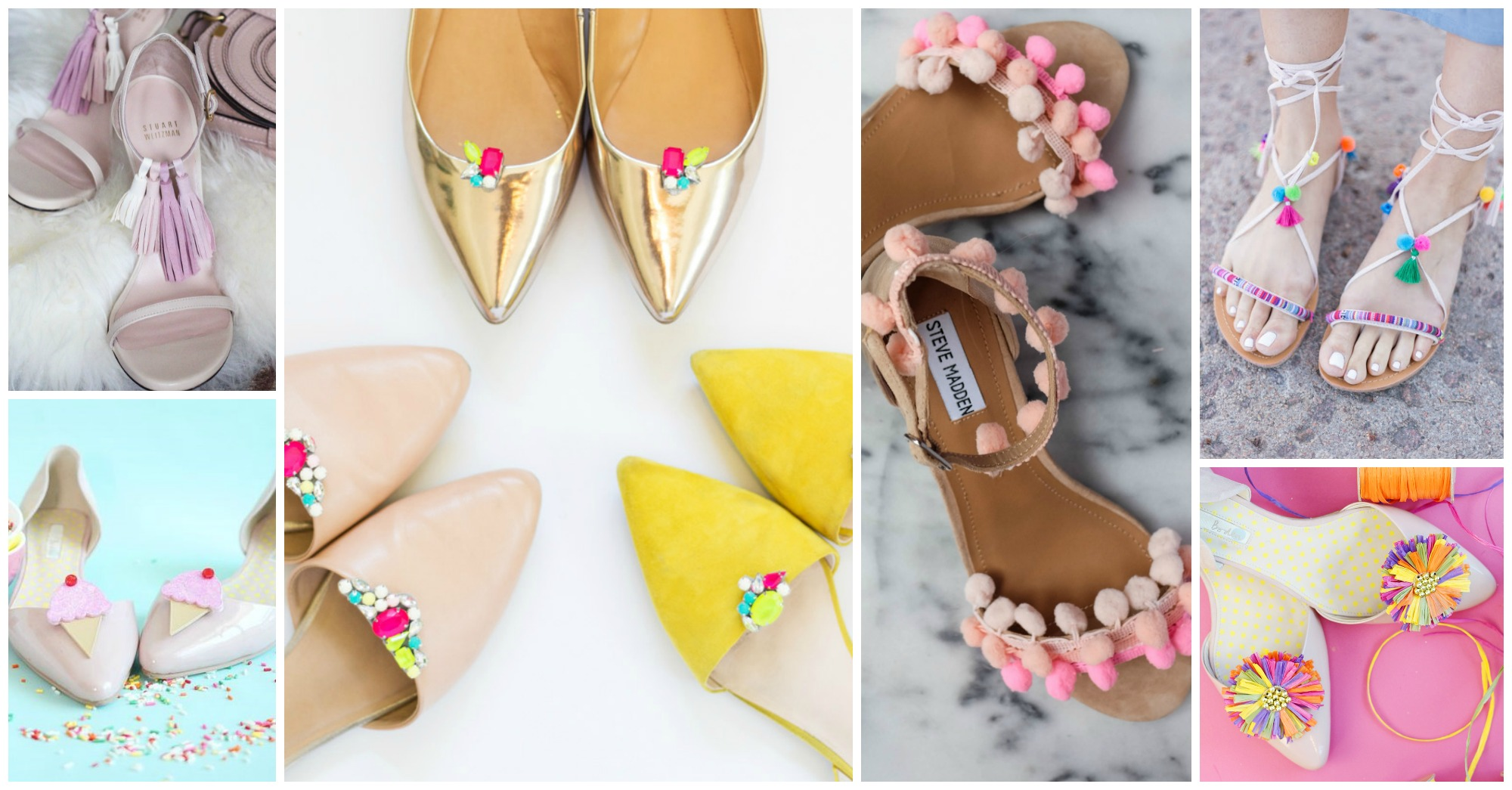 10 Gorgeous Summer Shoes to DIY Right Now