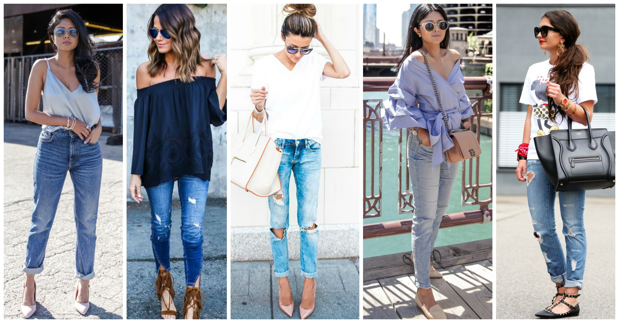 15 Chic Ideas of How to Style Your Denim Jeans This Summer