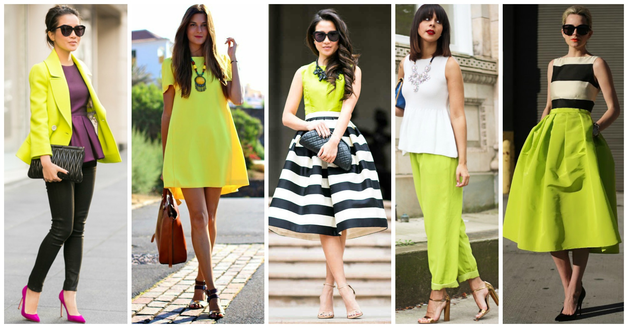 10 Outstanding Outfit Ideas to Wear Lime This Summer