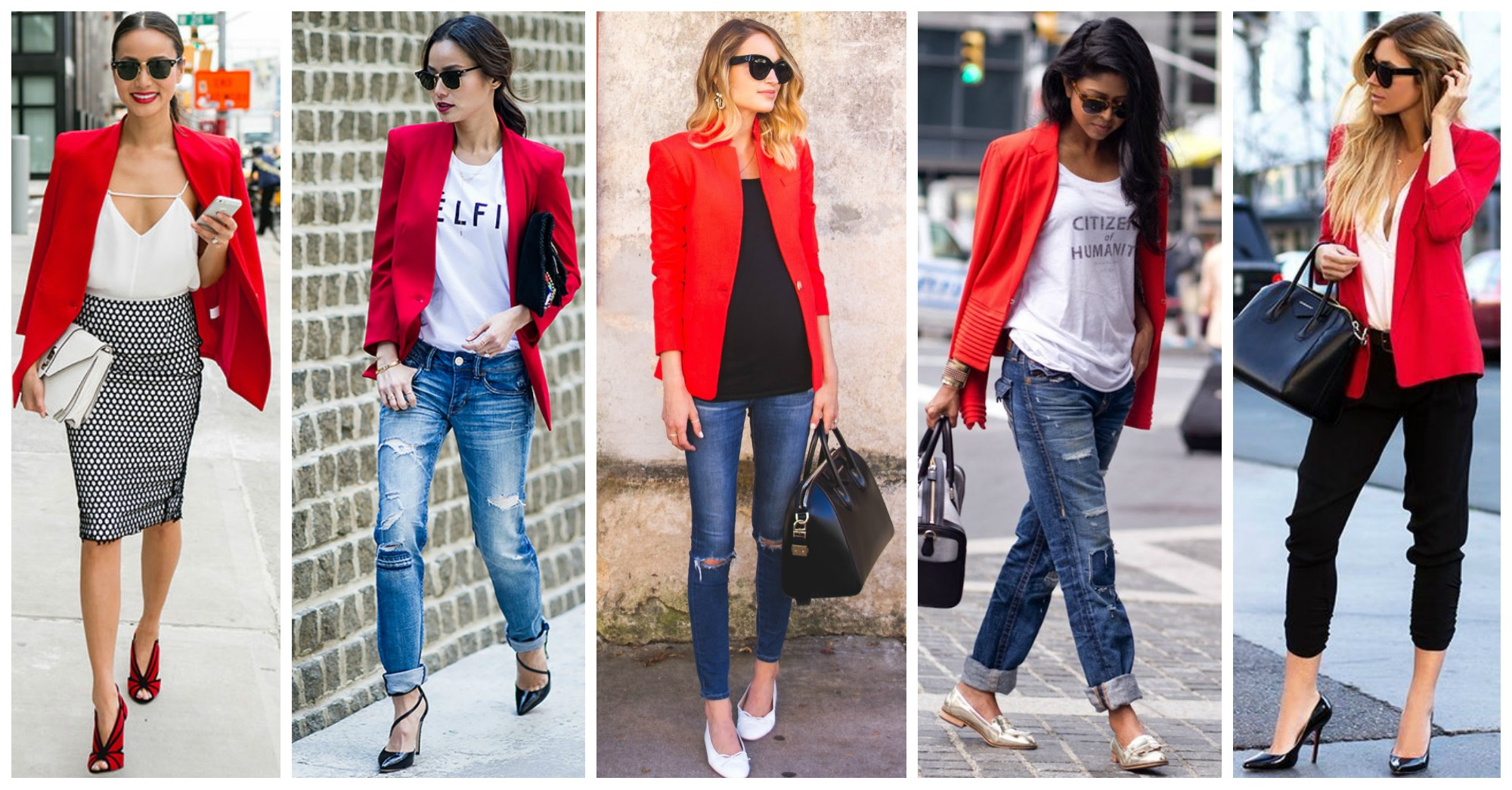 11 Fabulous Outfits with Red Blazers to Copy This Season
