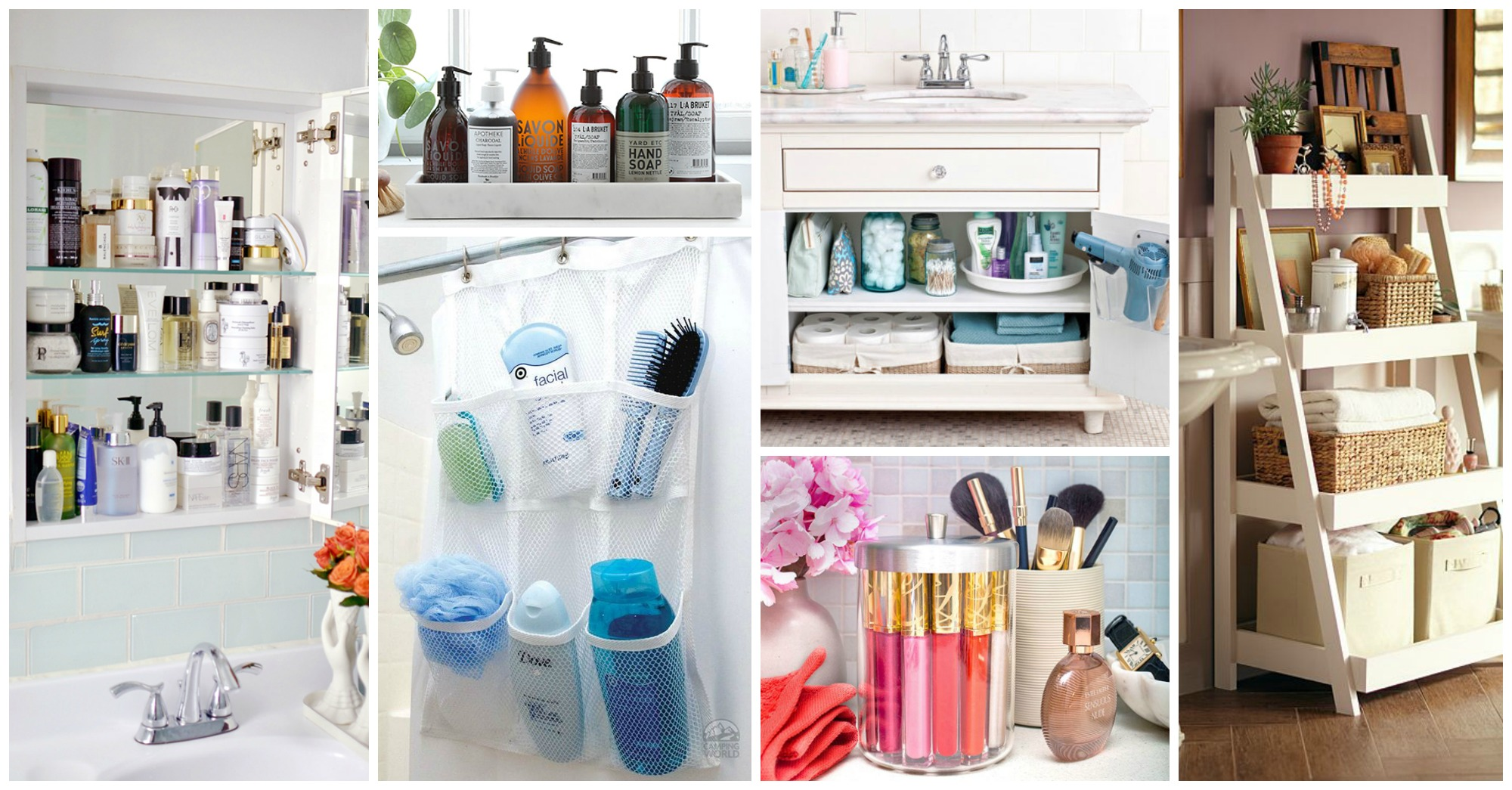 15 Clever Ideas to Organize Your Beauty Products in the Bathroom