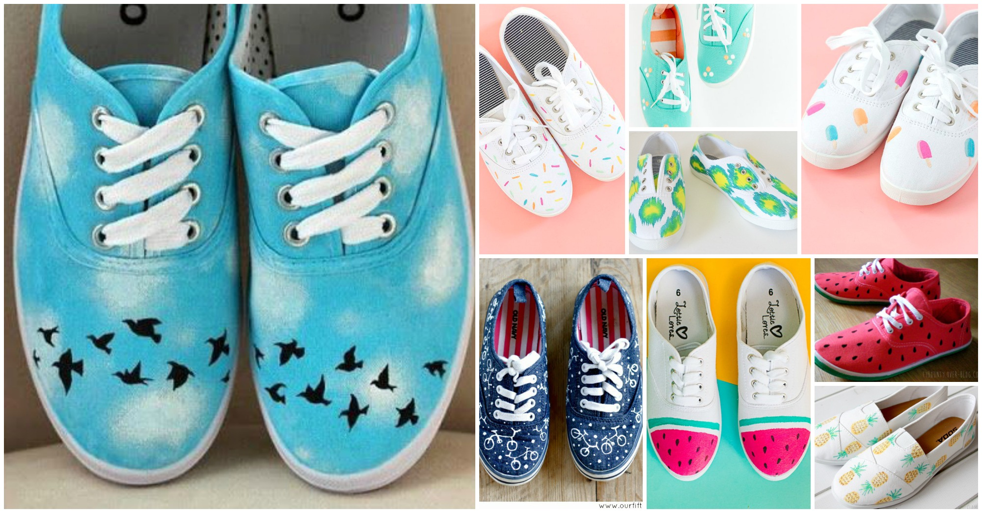 15 Lovely DIY Shoes You Will Love