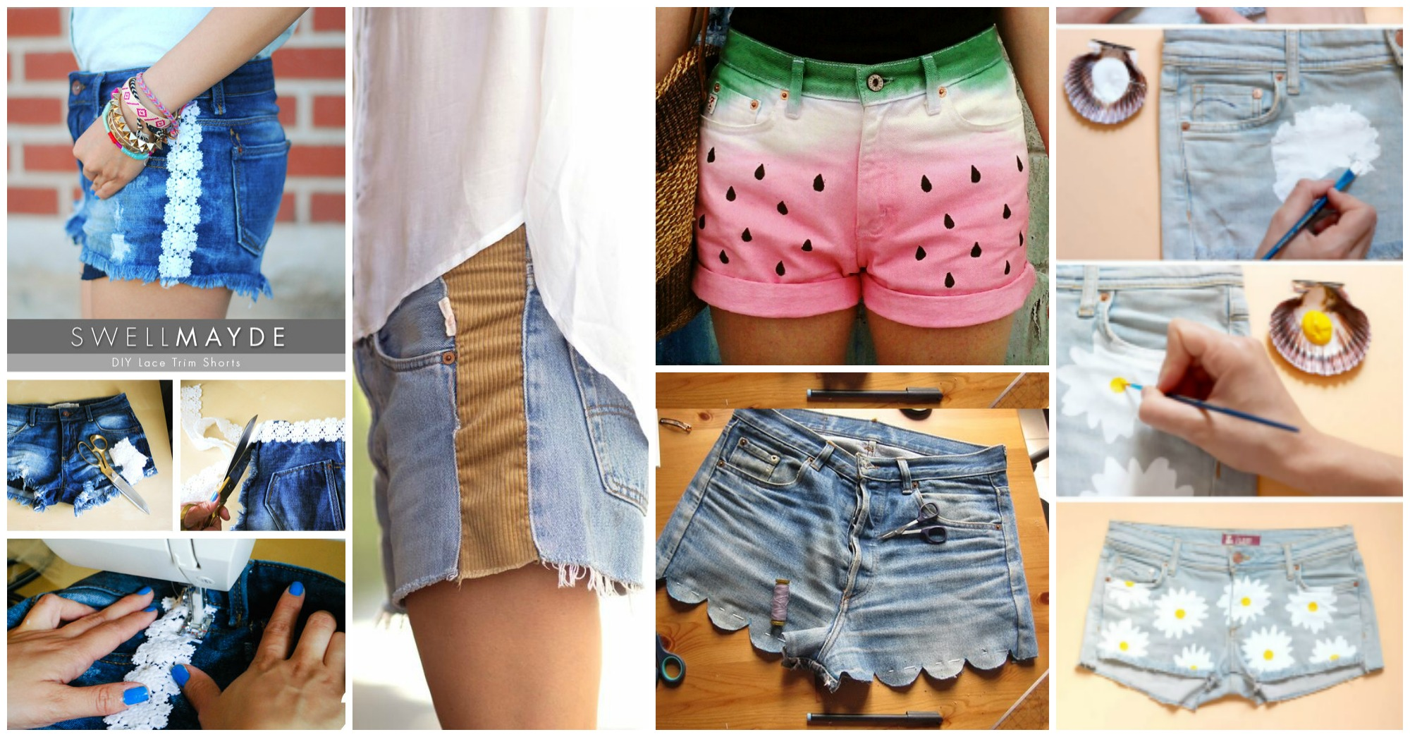 10 Amazing DIY Shorts Ideas You Need to Try This Summer
