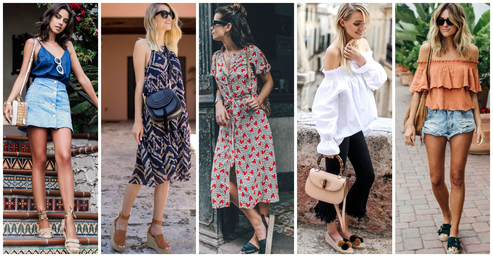 15 Chic Summer Outfits with Espadrilles to Copy Right Now