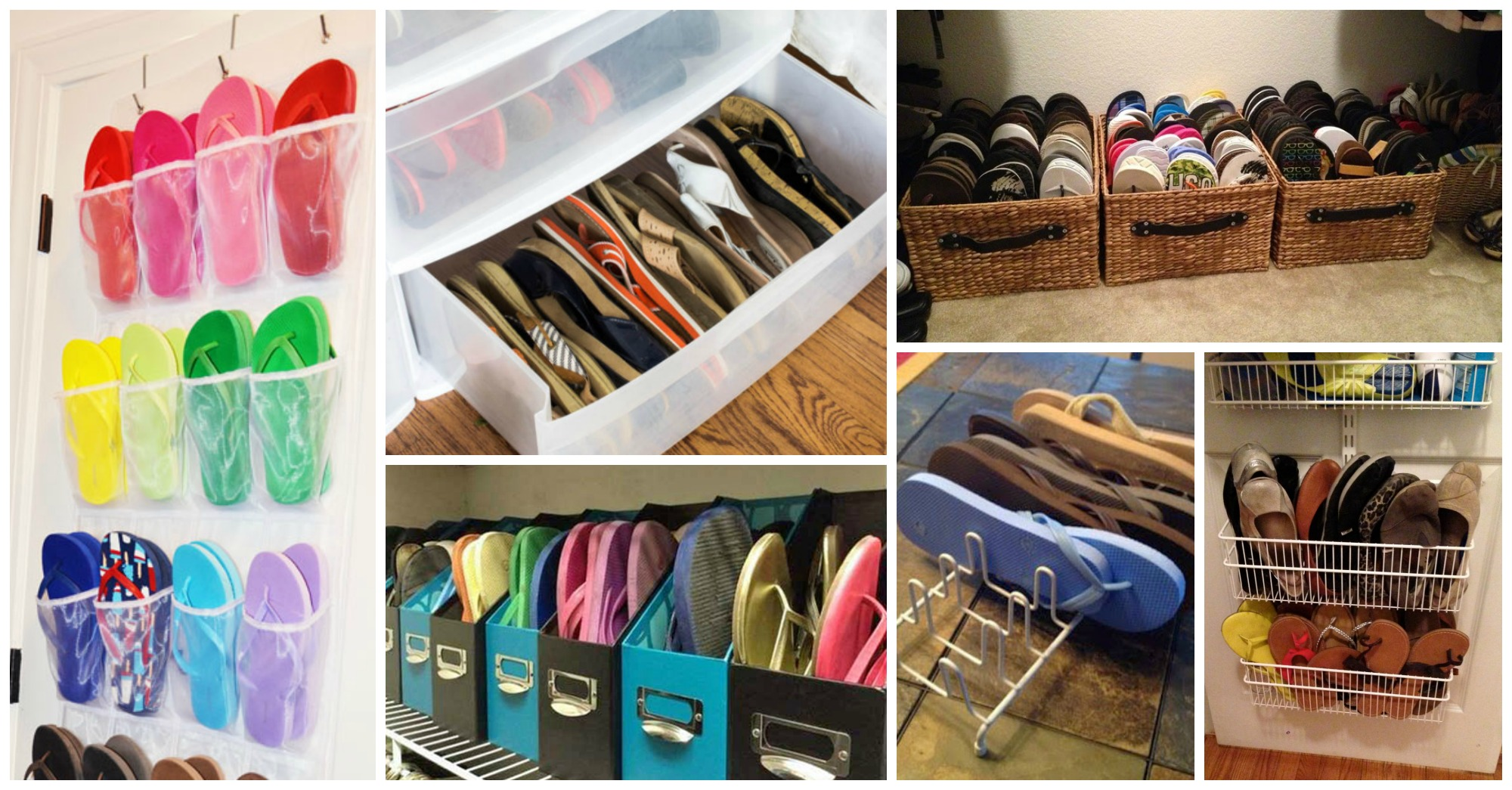 8 Clever Ways to Keep Your Flip-Flops Organized This Summer
