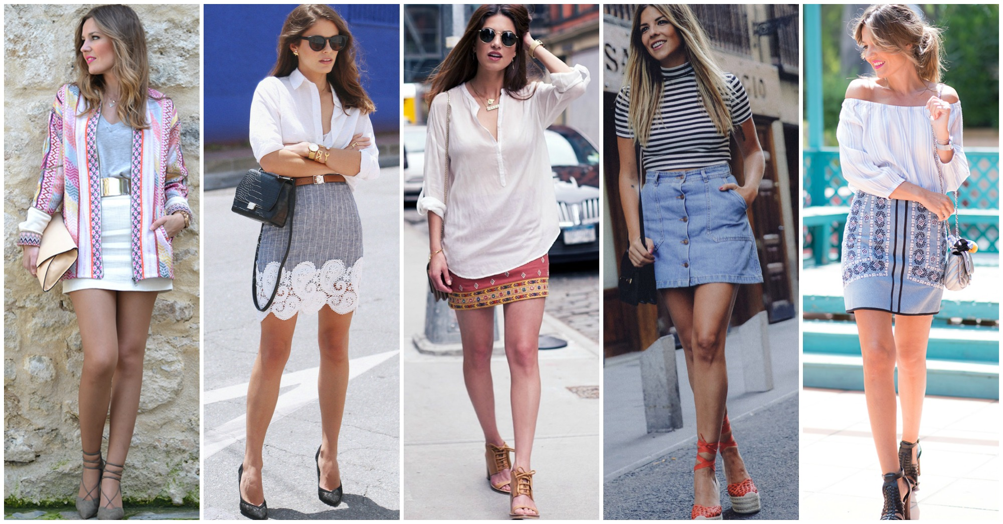 13 Fashionable Ways to Style Your Mini Skirts This Summer