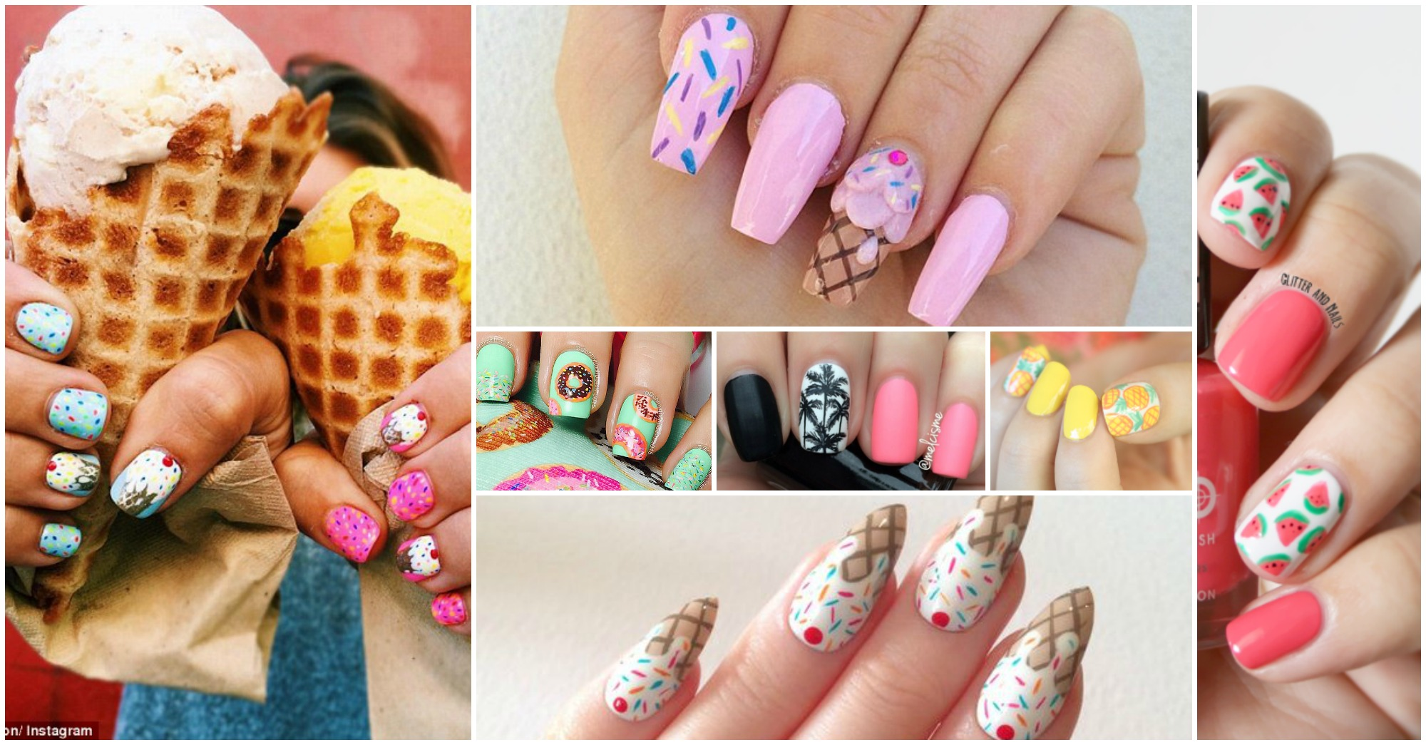 20 Lovely Summer Nails That Will Catch Your Attention