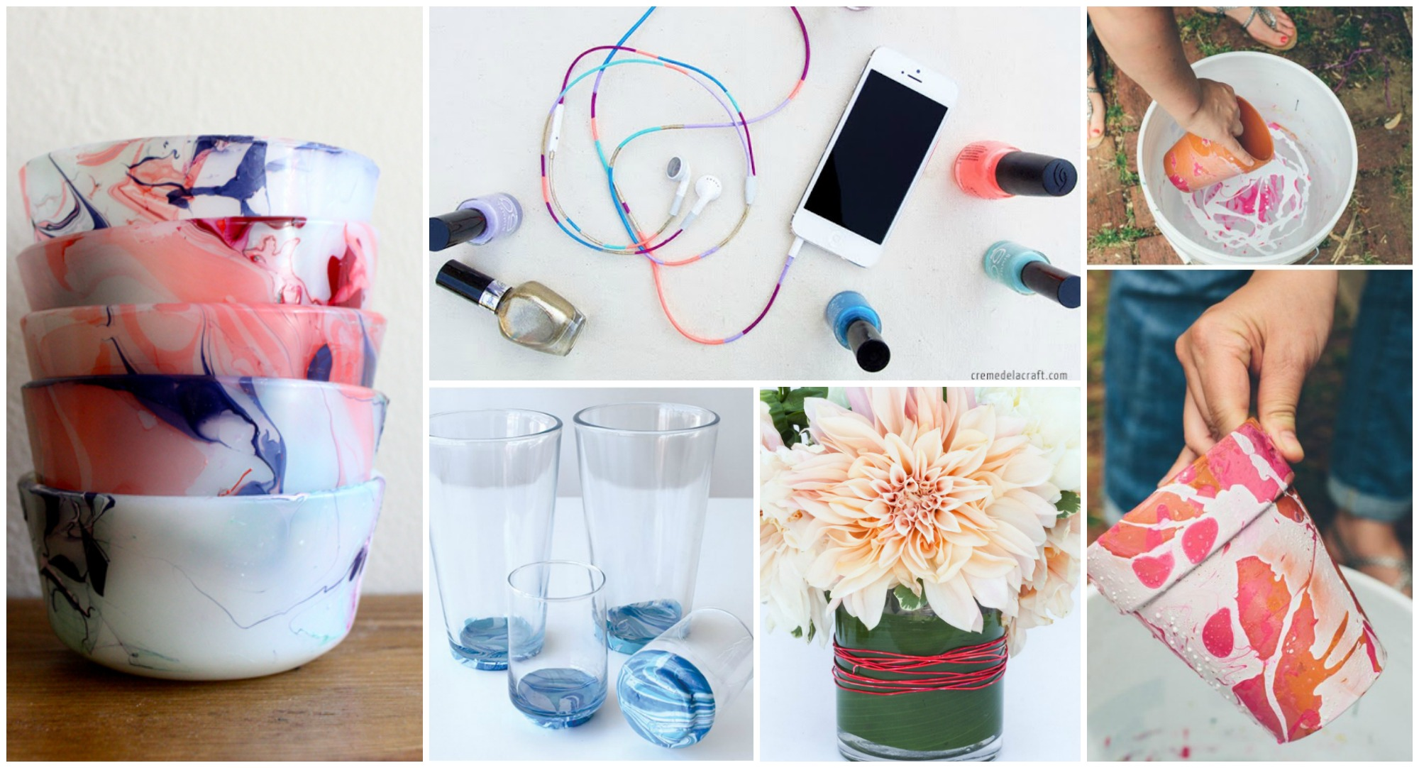 16 Fun DIY Nail Polish Crafts to Make Right Now