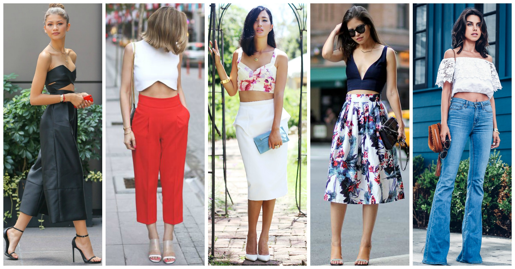 10 Fabulous Street Style Combos With Crop Tops