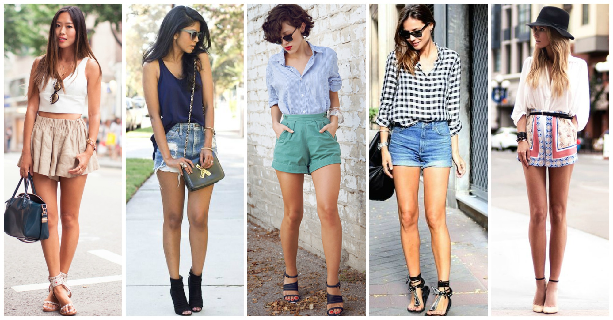 15 Lovely Ways to Style Your High Waist Shorts