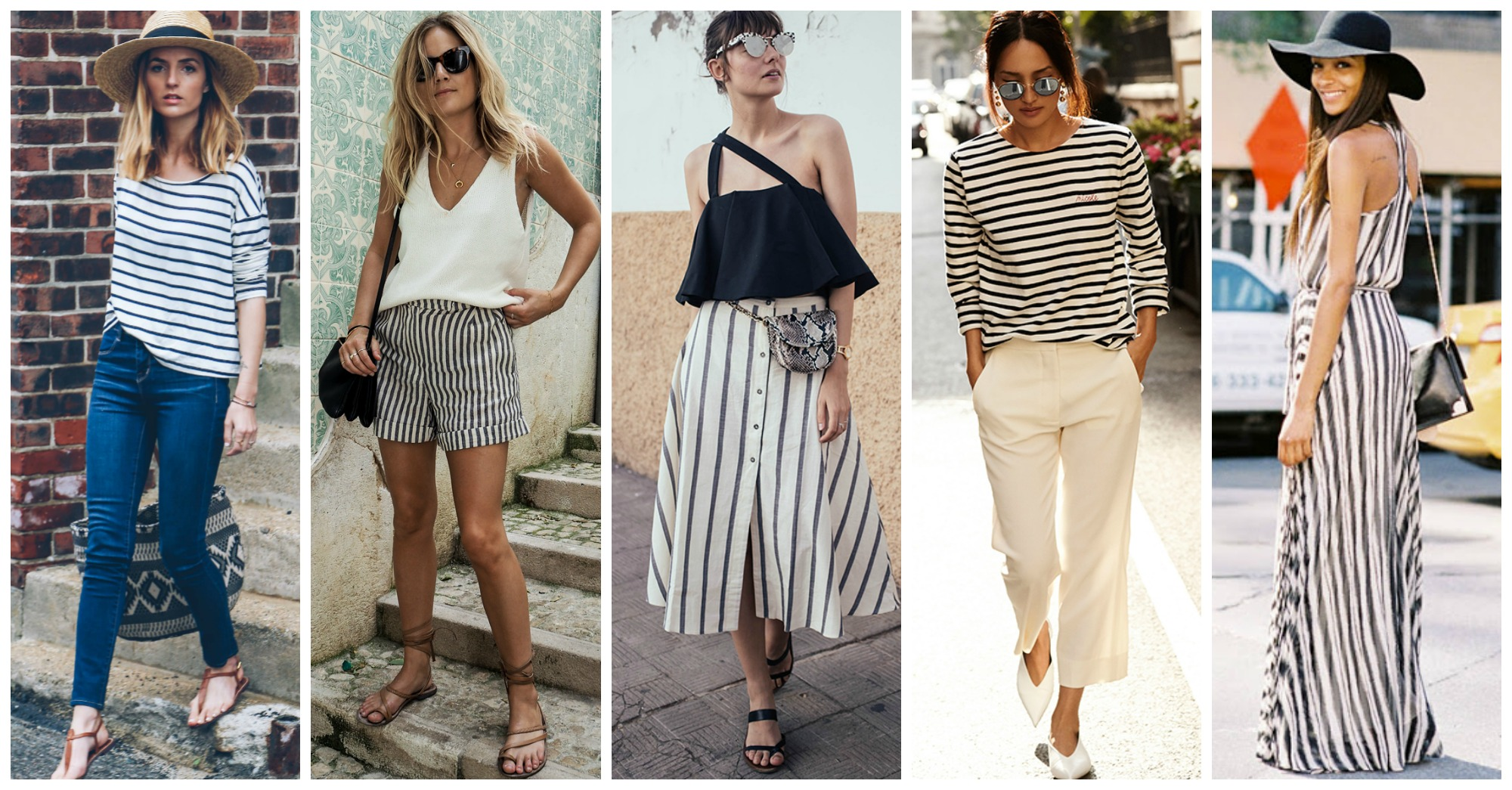 18 Wonderful Ways to Wear Stripes This Season