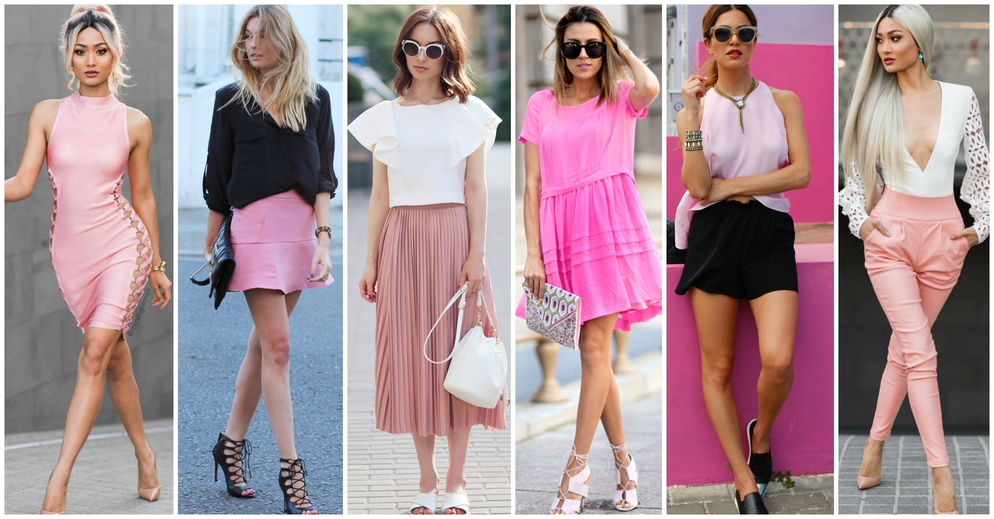 16 Lovely Ways to Wear Pink and Look Fashionable