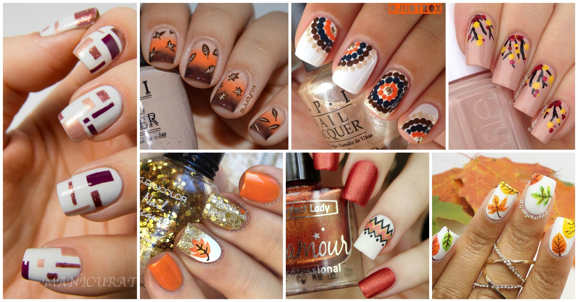 15 Cute Nail Designs To Try This Fall