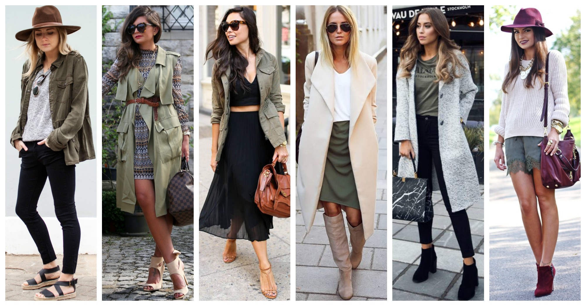 21 Stylish Ways to Wear Khaki