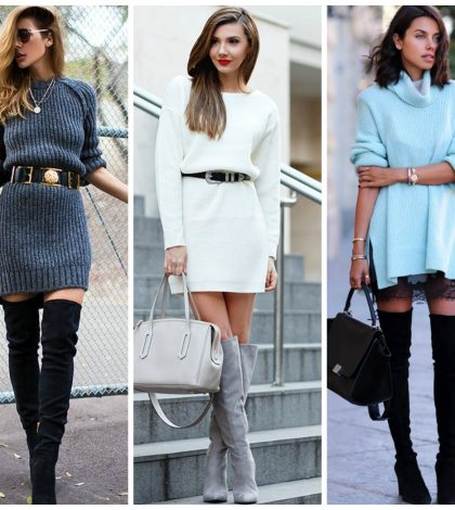 knit dress outfits
