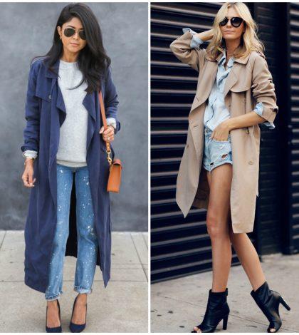 long trench coats