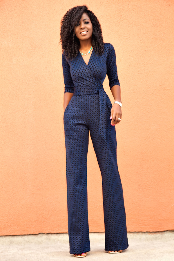 14 Lovely Outfits with Jumpsuits to Wear This Season - photo#34