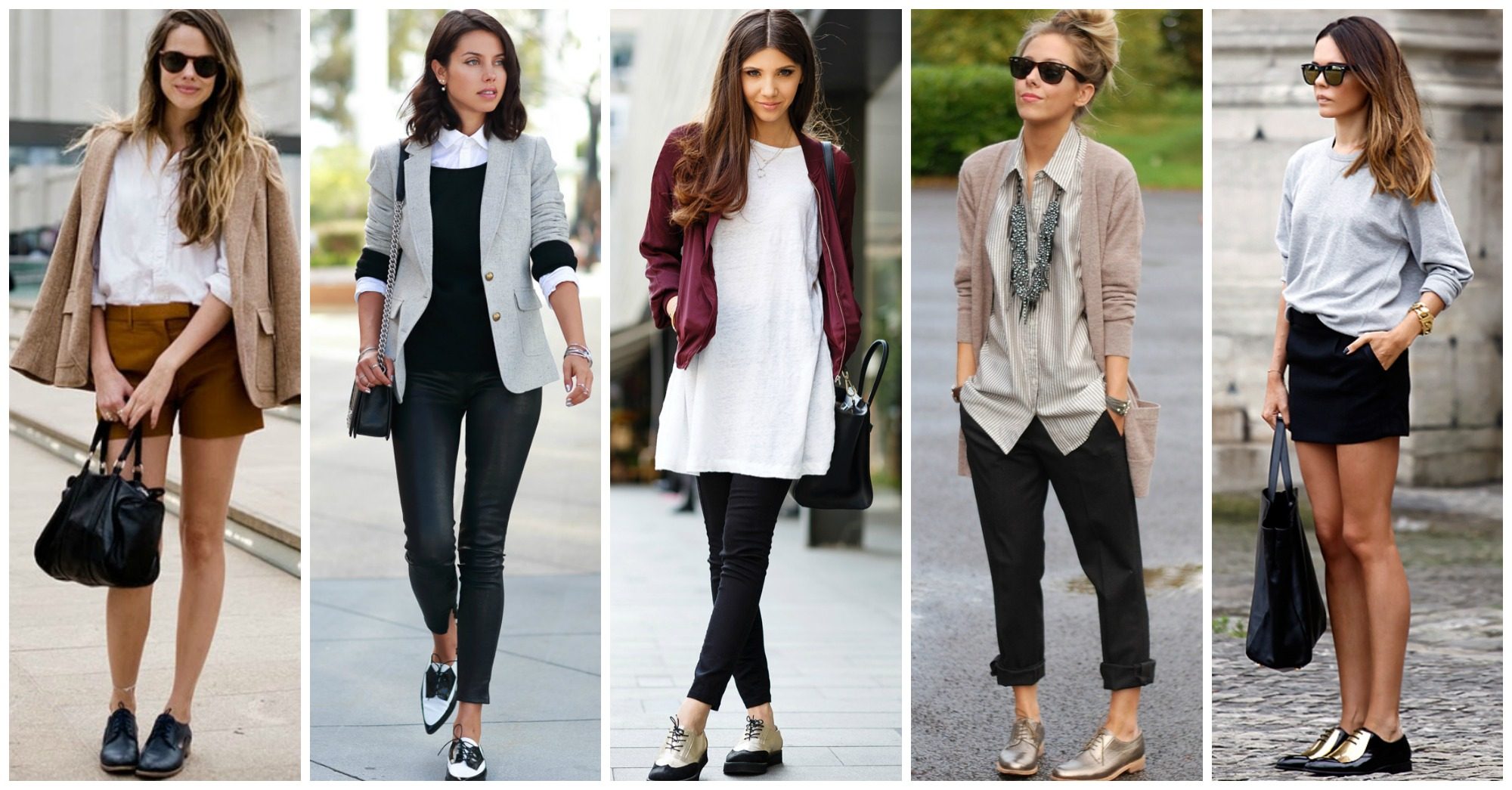 10 Stunning Fall Outfits with Oxford Shoes