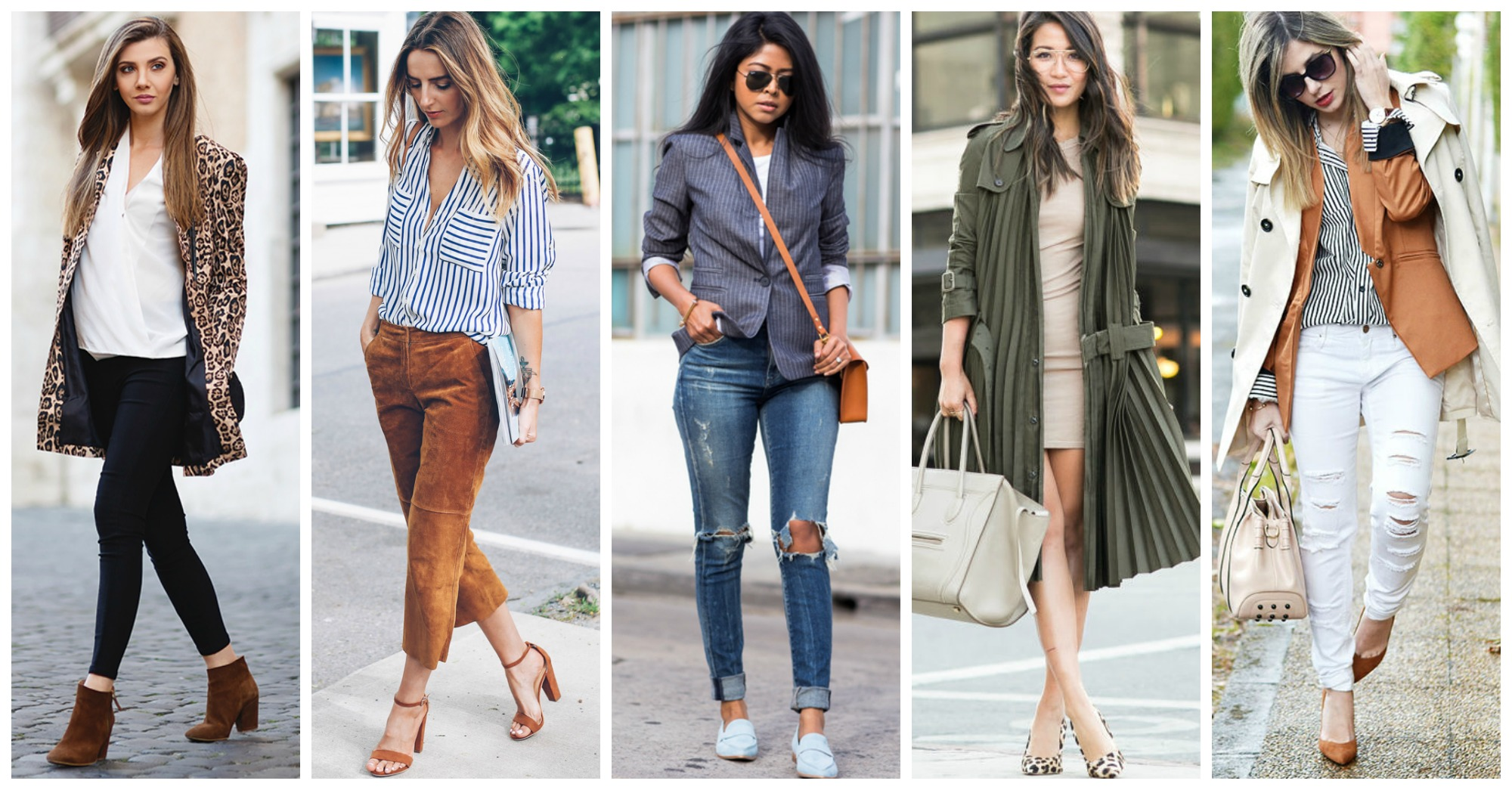 20 Outfits with Suede Shoes for Fabulous Pre-Fall Look