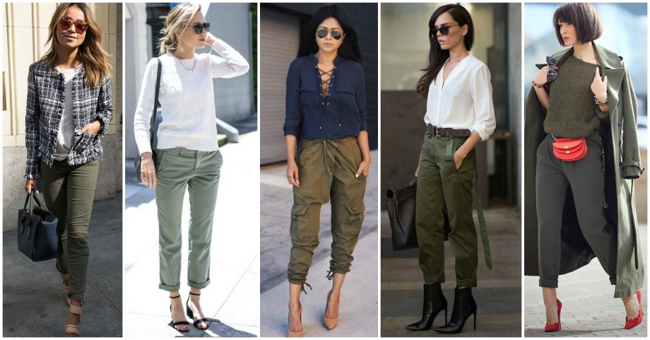 17 Lovely Ways to Wear Your Khaki Pants All Year Round