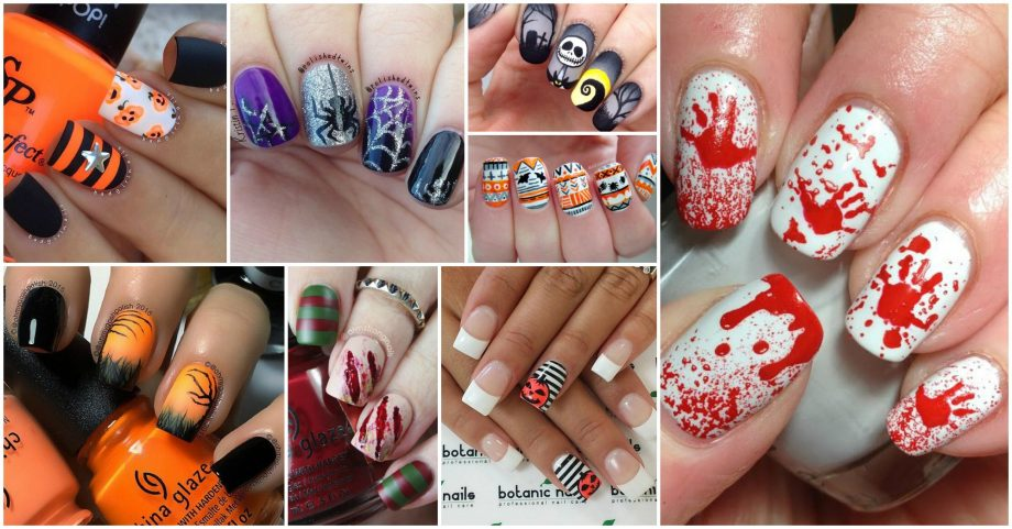 14 Bone-Chilling Halloween Nail  Designs