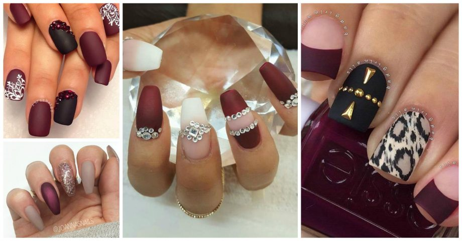 13 Cute Burgundy Nails That Will Catch Your Eye