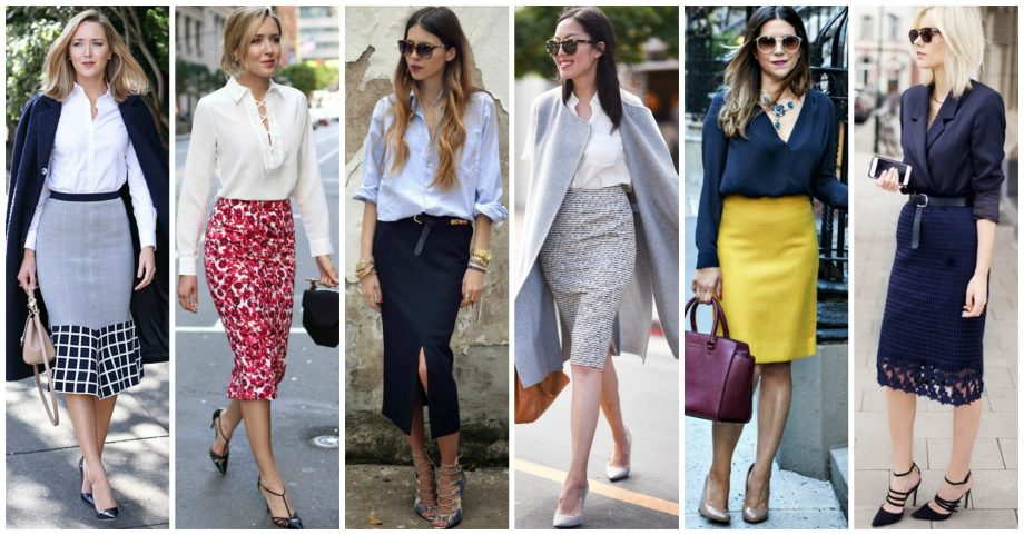 15 Fashionable Ways to Wear A Pencil Skirt In The Office This Season