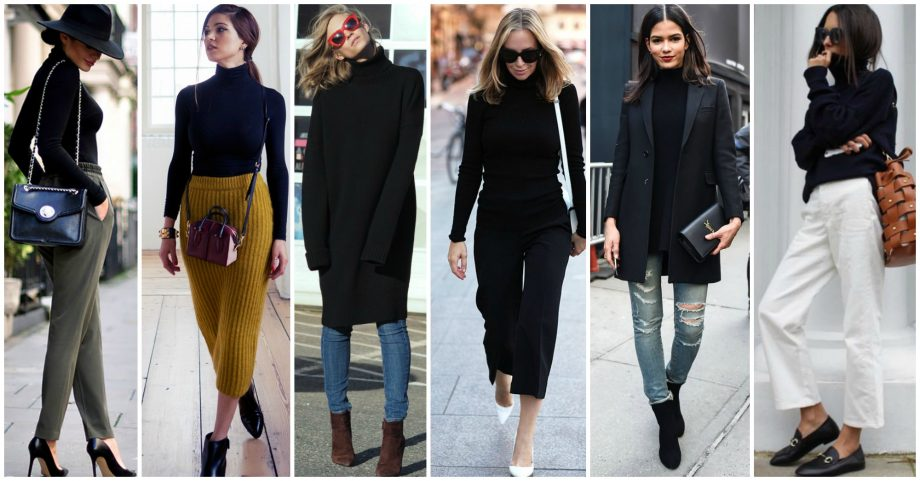 21 Simple Ways to Wear Your Black Turtleneck and Look Stunning
