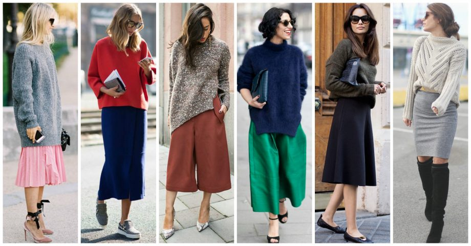 10 Fashionable Ideas to Wear Your Oversized Sweater