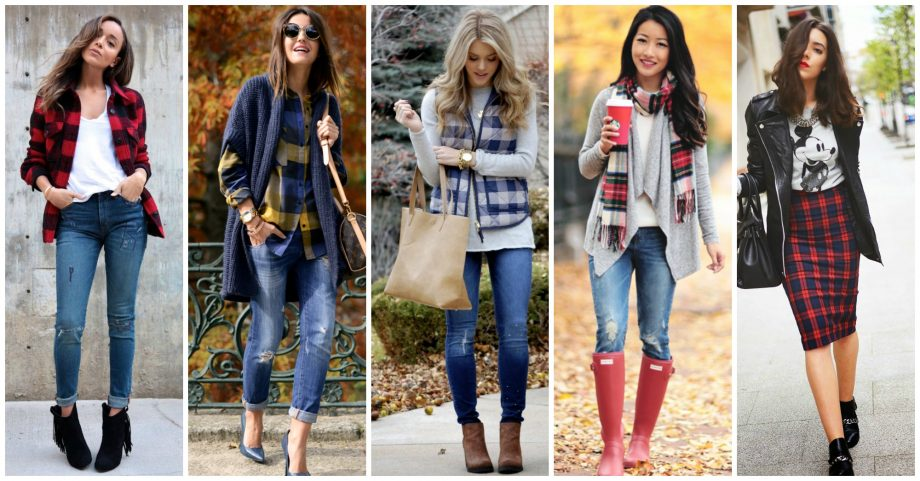 19 Ways to Wear Tartan This Fall