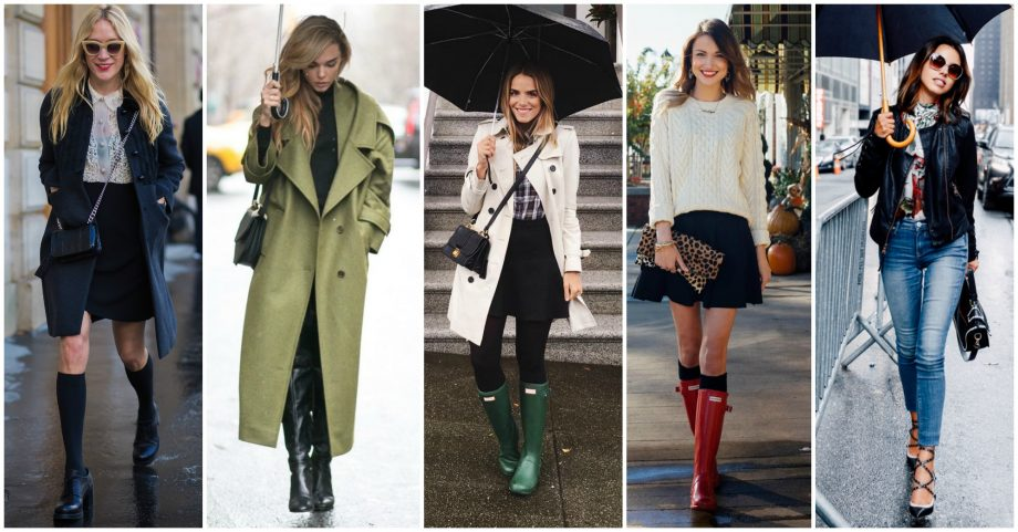 15 Lovely Outfits for Rainy Days