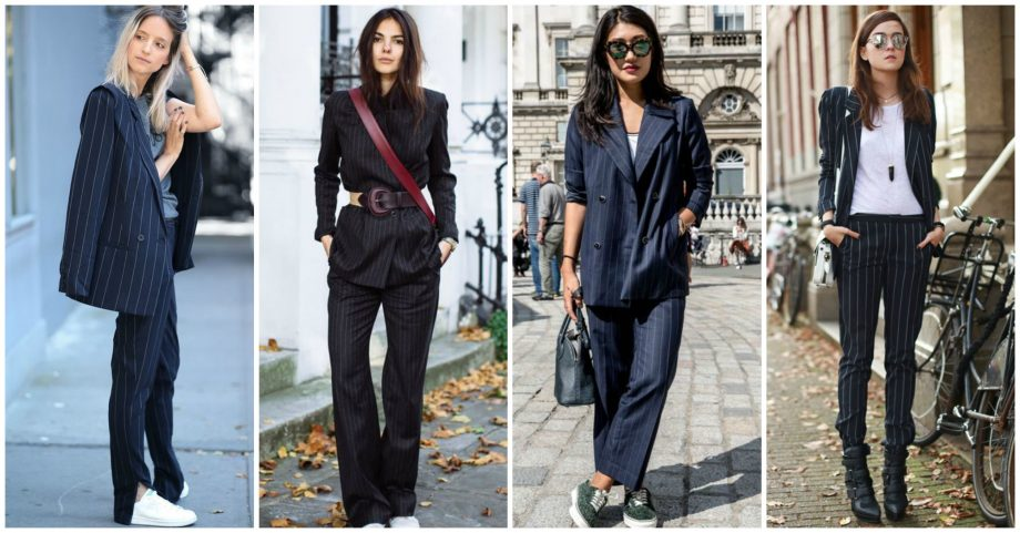 10 Ways to Follow the Pinstripe Suiting Trend This Fall