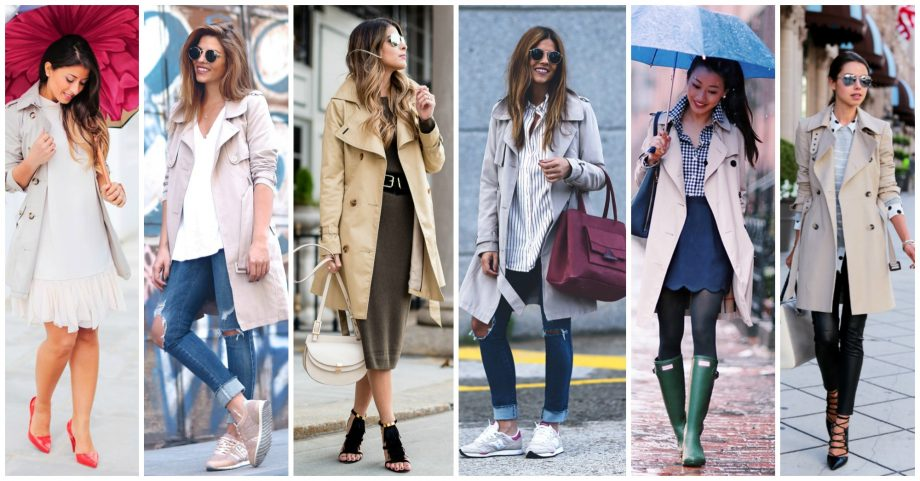 17 Chic Ways to Wear Your Trench Coat This Season