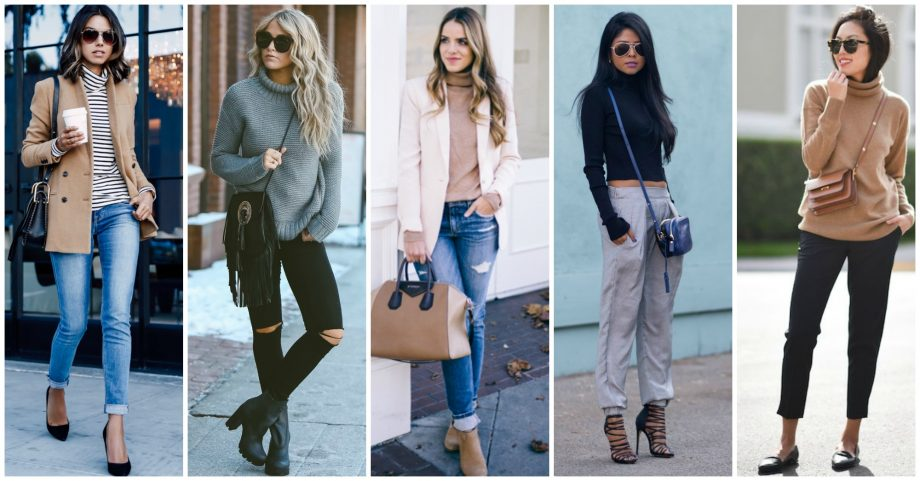 15 Outfits With Turtlenecks to Copy Now