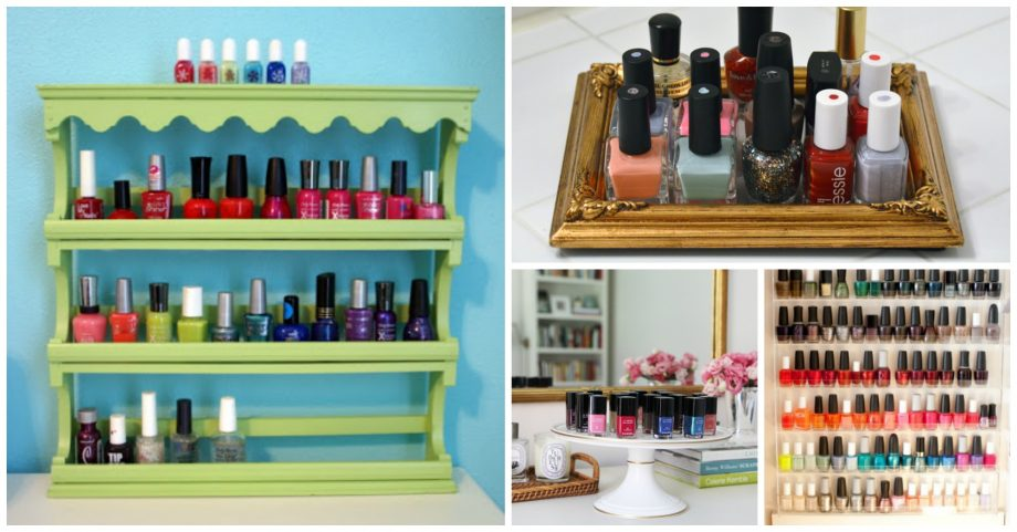 16 Gorgeous DIY Nail Polish Storage Ideas You Need to See
