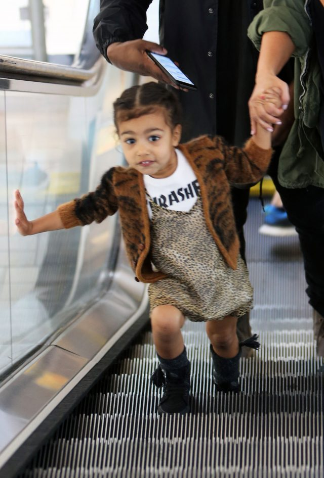 North West in Culver City on March 13, 2016.