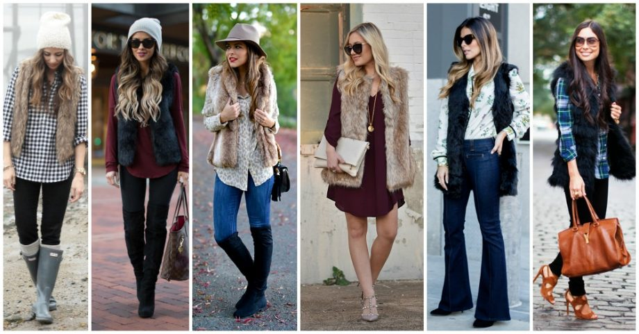 15 Chic Ways to Wear Your Fur Vest