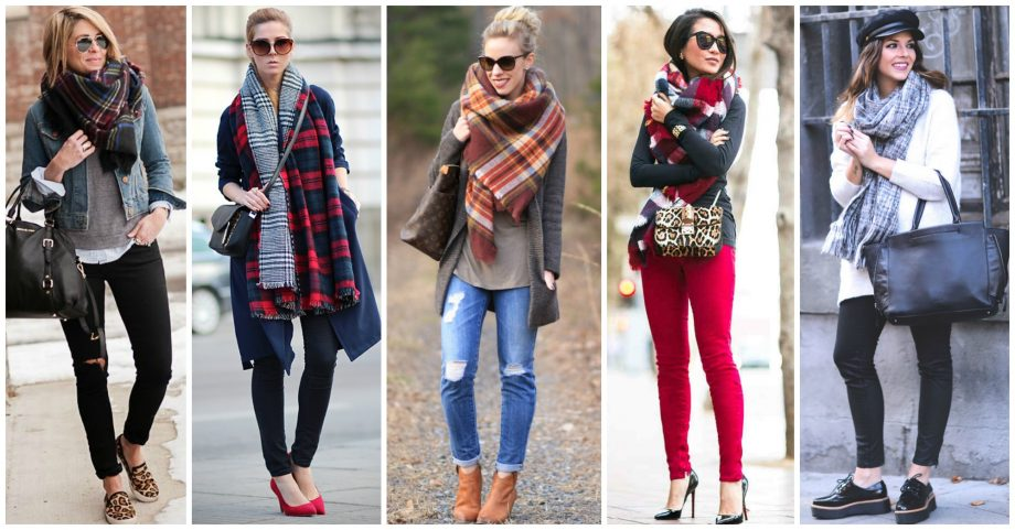 Fashionable Ways to Style Your Oversized Scarf This Season
