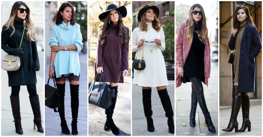 18 Gorgeous Turtleneck Dresses to Wear This Fall
