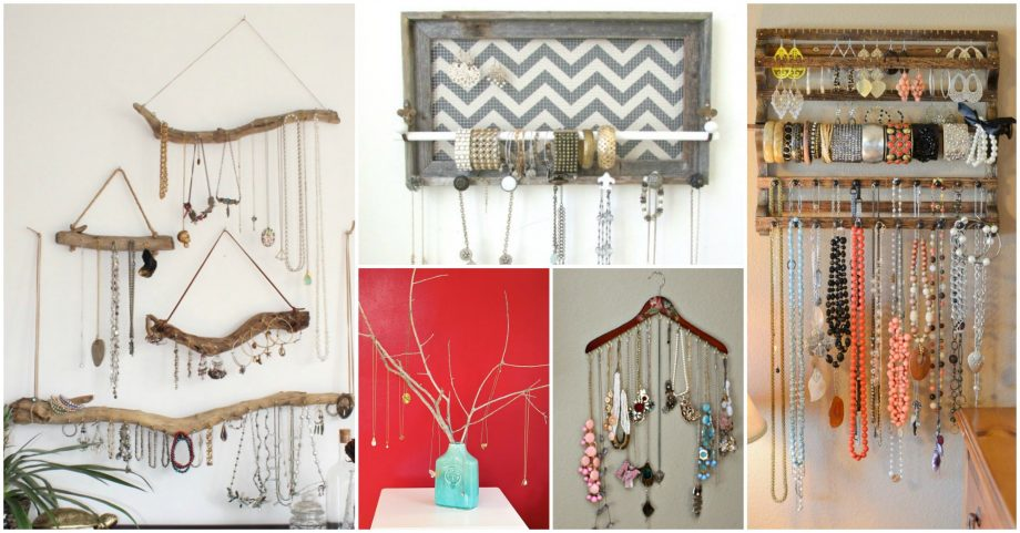 10 Awesome Wooden Jewelry Storage Ideas