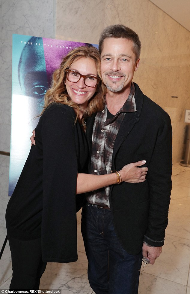 Is Brad Pitt Dating Julia Roberts?