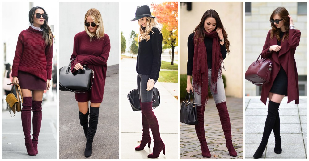 15 Awesome Burgundy Outfits That Will Catch Your Attention